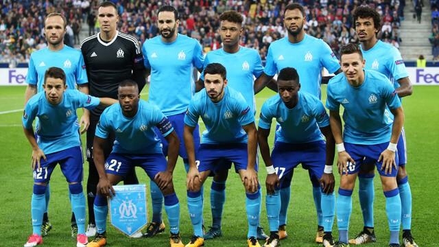 Olympique Marseille soccer team 2019