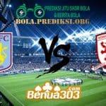 Prediksi Skor Aston Villa FC Vs Middlesbrough FC 16 Maret 2019