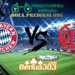 Prediksi Skor Bayern Munich Vs Mainz 05 18 Maret 2019