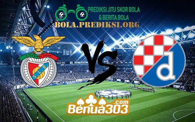 Prediksi Skor Benfica Vs Dinamo Zagreb 15 Maret 2019