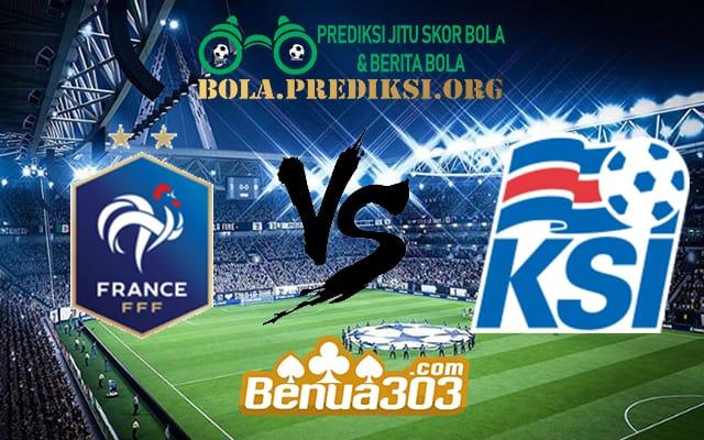 Prediksi Skor France Vs Iceland 26 Maret 2019