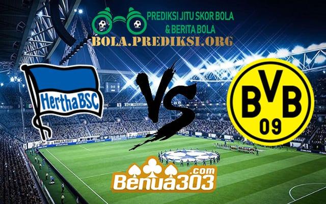 Prediksi Skor Hertha BSC Vs Borussia Dortmund 17 Maret 2019