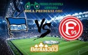 Prediksi Skor Hertha BSC Vs Fortuna Düsseldorf 6 April 2019