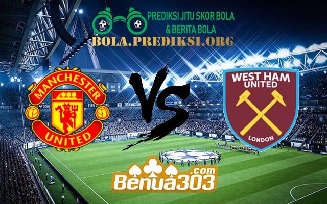 Prediksi Skor Manchester United Vs West Ham United 13 April 2019
