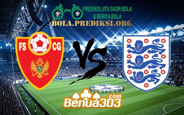 Prediksi Skor Montenegro Vs England 26 Maret 2019