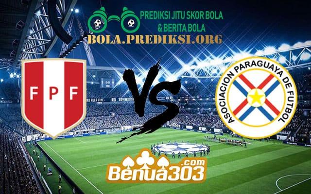 Prediksi Skor Peru Vs Paraguay 23 maret 2019