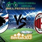 Prediksi Skor Sampdoria Vs Milan 31 Maret 2019