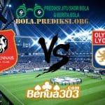 Prediksi Skor Stade Rennais FC Vs Olympique Lyonnais 30 Maret 2019