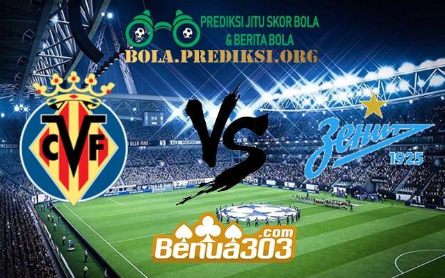 Prediksi Skor Villarreal Vs Zenit 15 Maret 2019