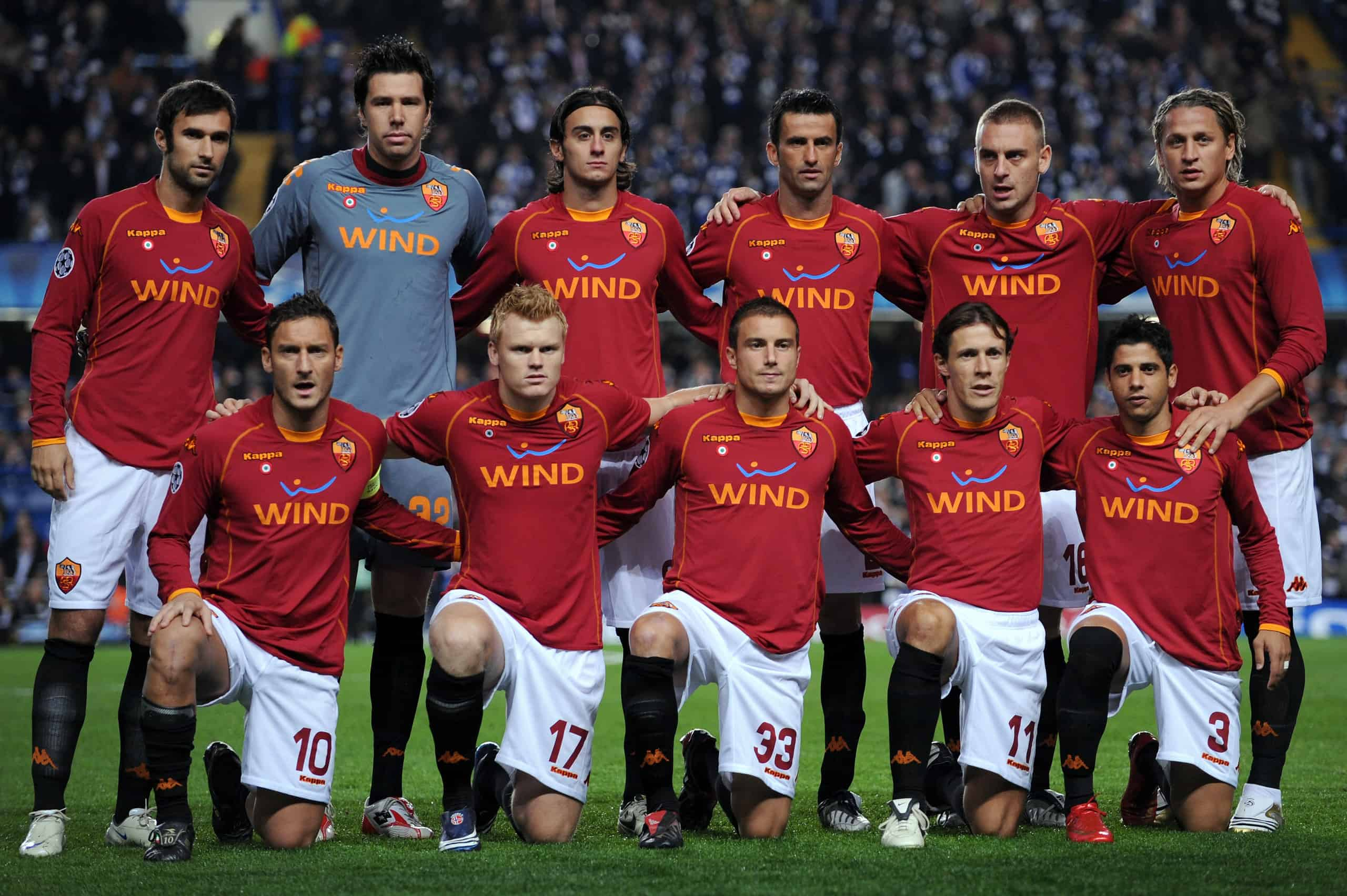 Roma soccer team