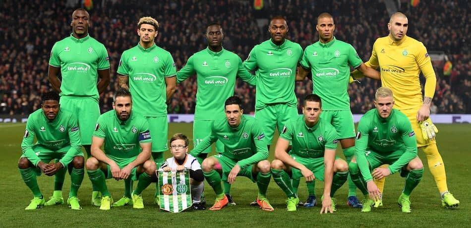 Saint-Étienne soccer team 2019