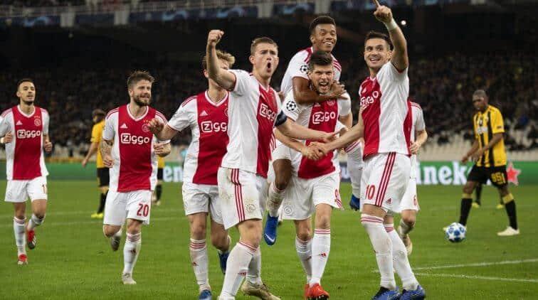 ajax fc soccer team 2019