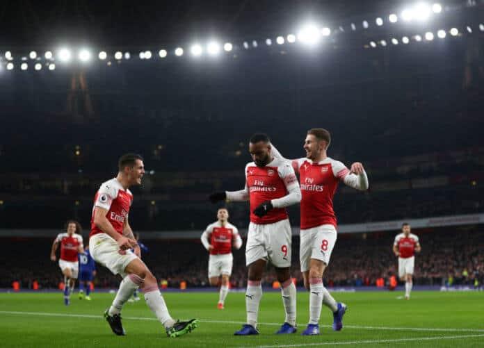 arsenal fc soccer team 2019
