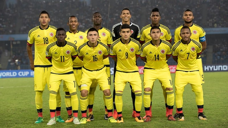 colombia soccer team