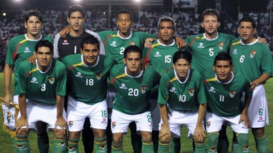 foto team Football BOLIVIA