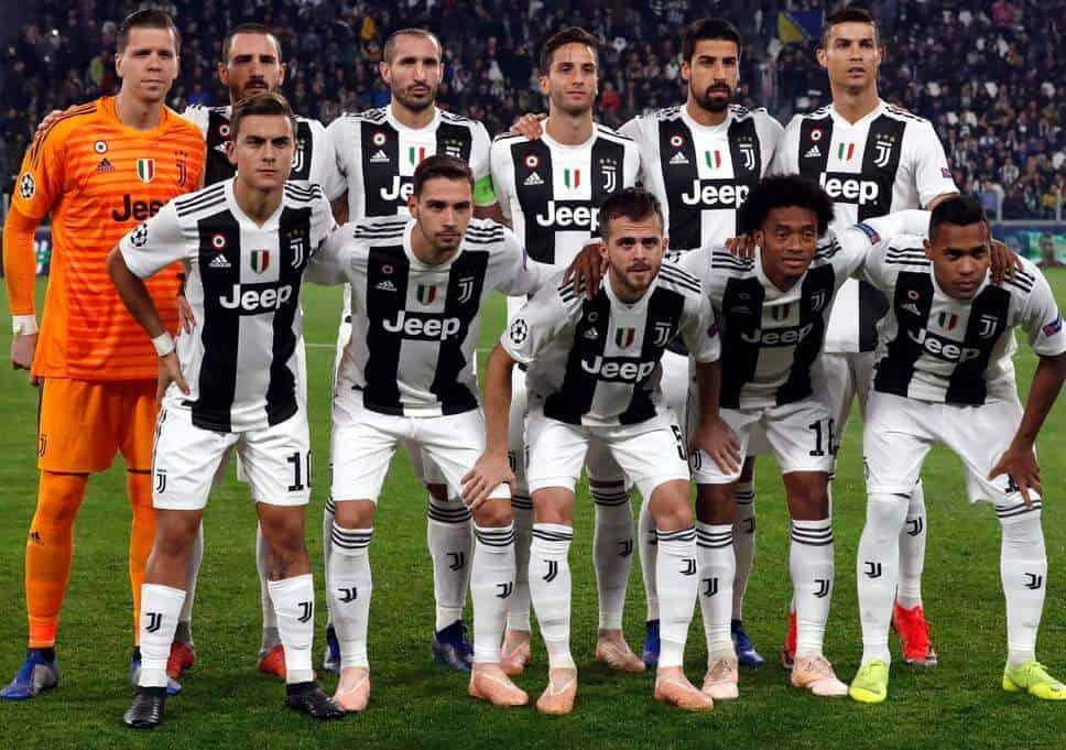 foto team Football JUVENTUS