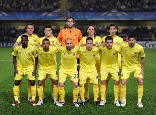 foto team Football VILLARREAL