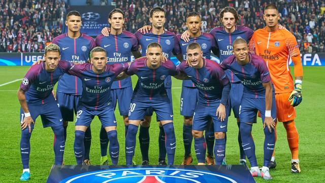 foto team PSG
