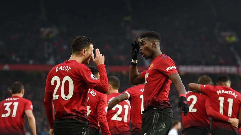 manchester united fc soccer team 2019