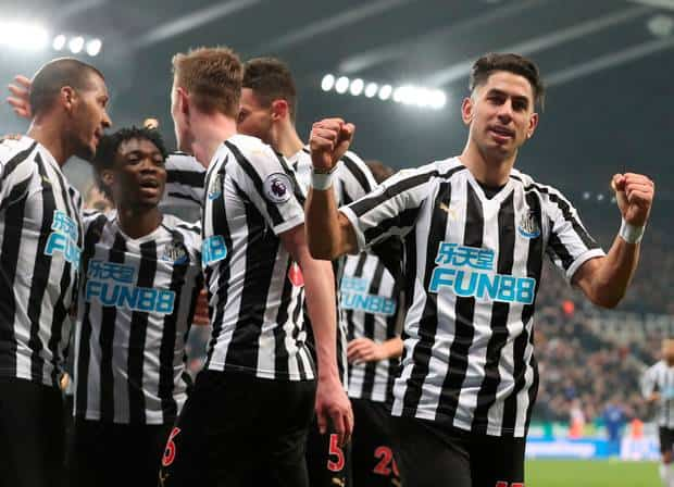 newcastle united fc soccer team 2019