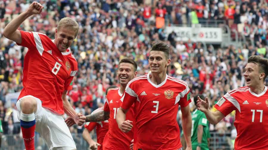russia fc soccer team 2019