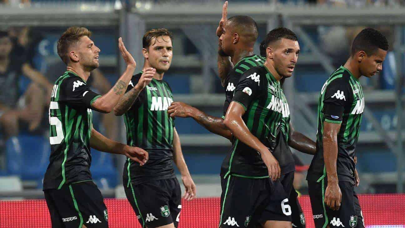sassuolo fc soccer team 2019