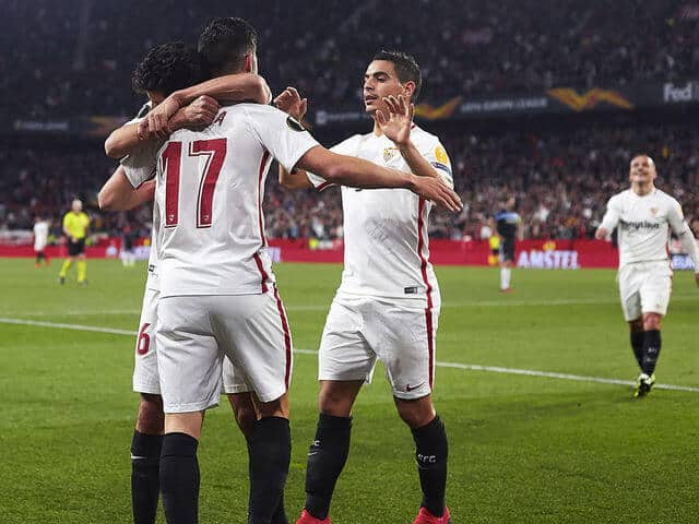 sevilla fc soccer team 2019