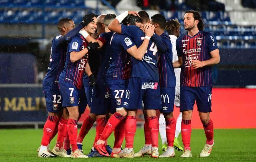 sm caen fc soccer team 2019