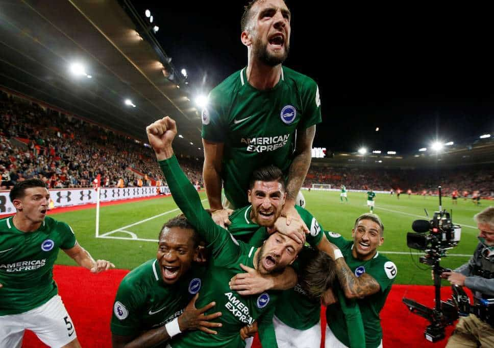 BRIGHTON & HOVE ALBION FC SOCCER TEAM 2019