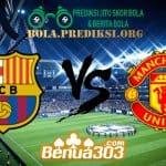 Prediksi Skor Barcelona Vs Manchester United 17 April 2019