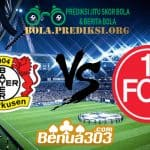 Prediksi Skor Bayer Leverkusen Vs Nurnberg 20 April 2019