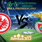 Prediksi Skor Eintracht Frankfurt Vs Benfica 19 April 2019
