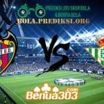 Prediksi Skor Levante Vs Real Betis 25 April 2019