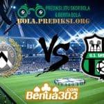 Prediksi Skor Udinese Vs Sassuolo 20 April 2019