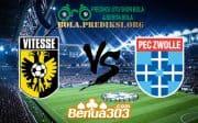 Prediksi Skor Vitesse Vs PEC Zwolle 21 April 2019