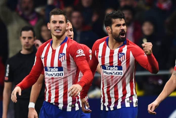 atletico madrid fc soccer team 2019