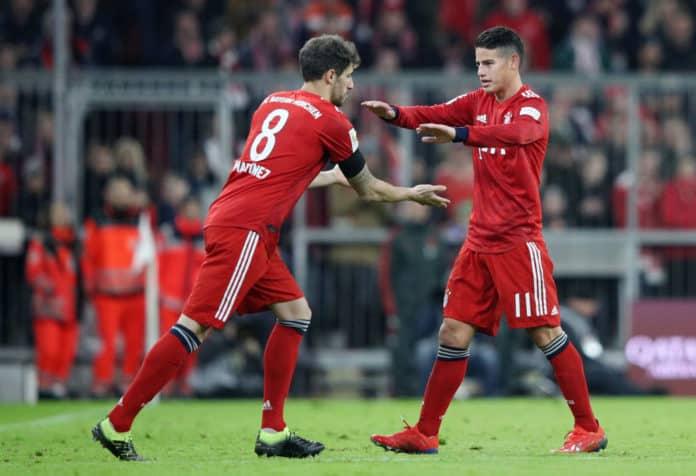 bayern munich fc soccer team 2019