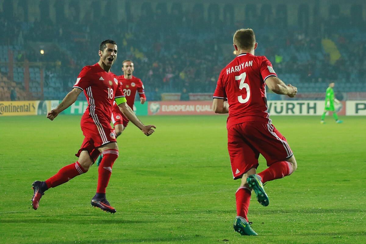 ARMENIA NATIONAL FC SOCCER TEAM 2019