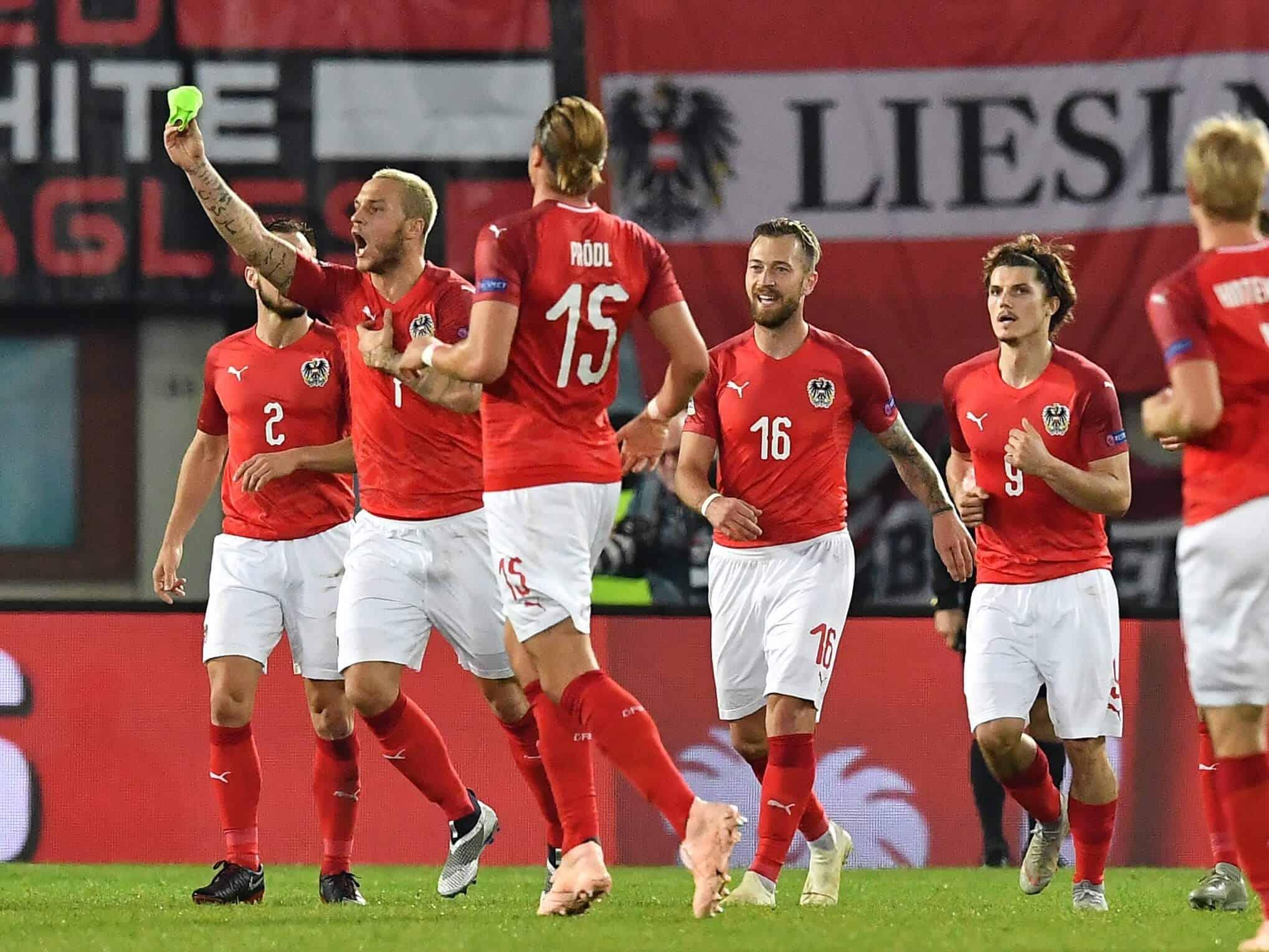 AUSTRIA national fc soccer team 2019