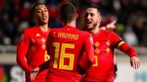 BELGIUM national fc soccer team 2019