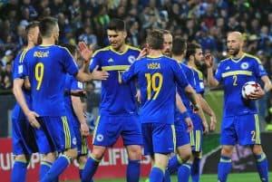 BOSNIA HERZEGOVINA national fc soccer team 2019