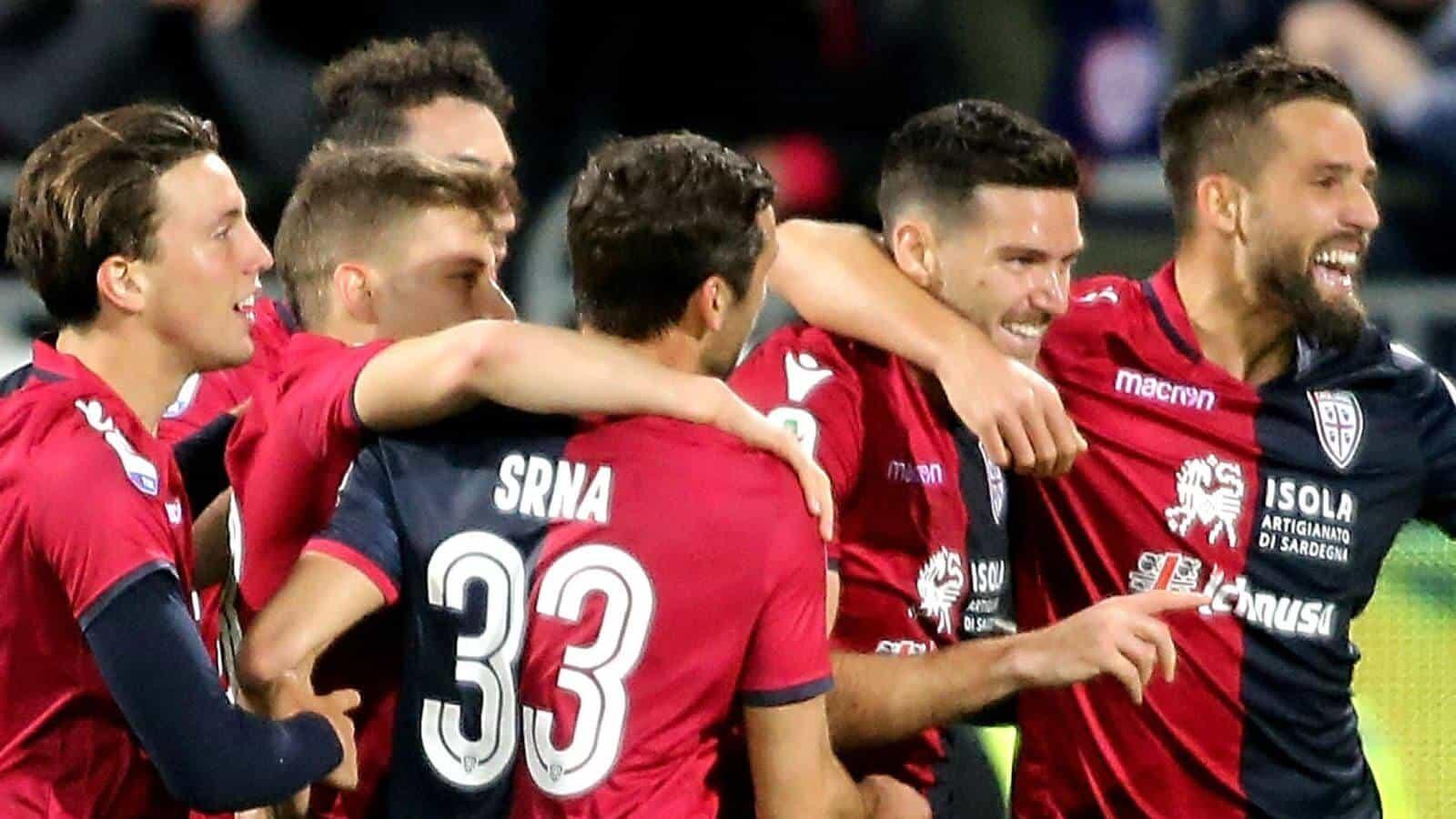 CAGLIARI fc soccer team 2019