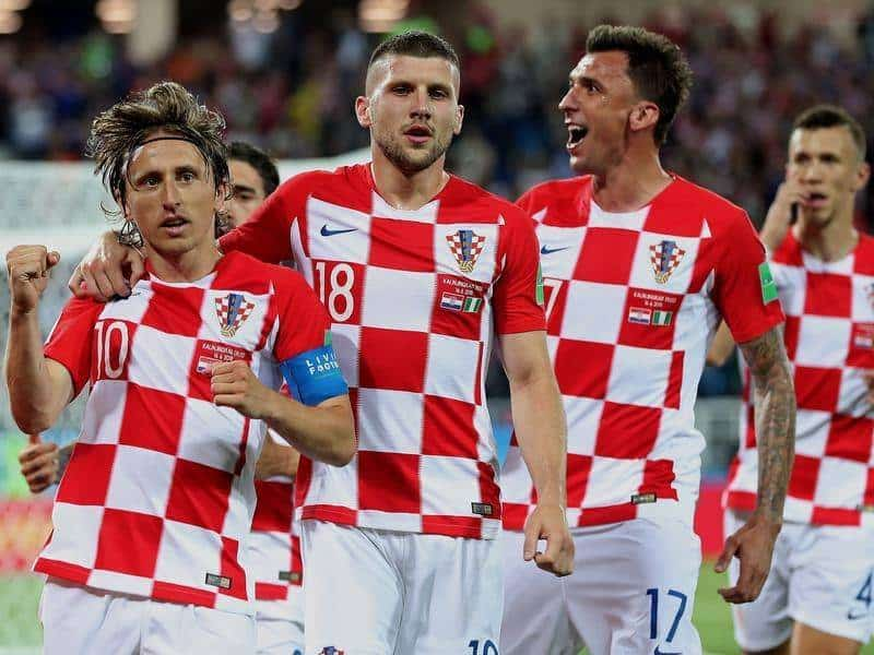 CROATIA NATIONAL FC SOCCER TEAM 2019