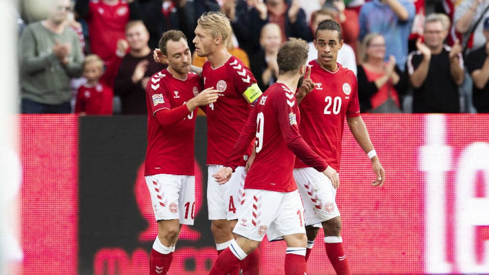 DENMARK NATIONAL FC SOCCER TEAM 2019