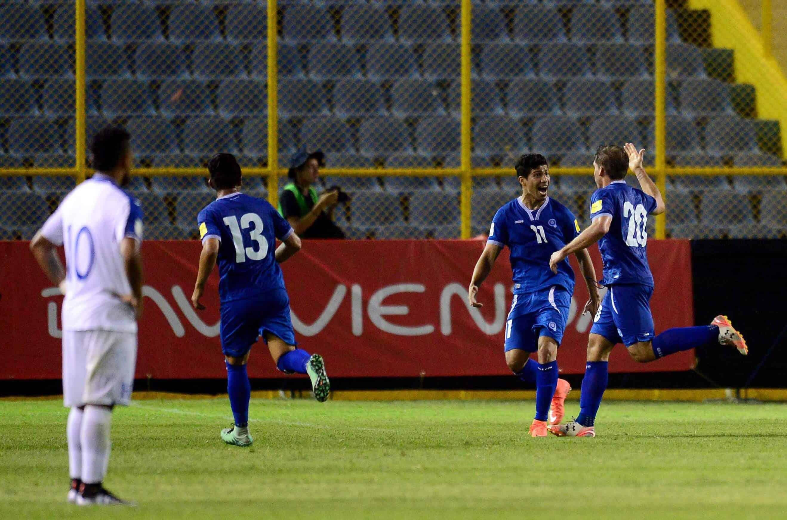 EL SALVADOR NATIONAL FC SOCCER TEAM 2019