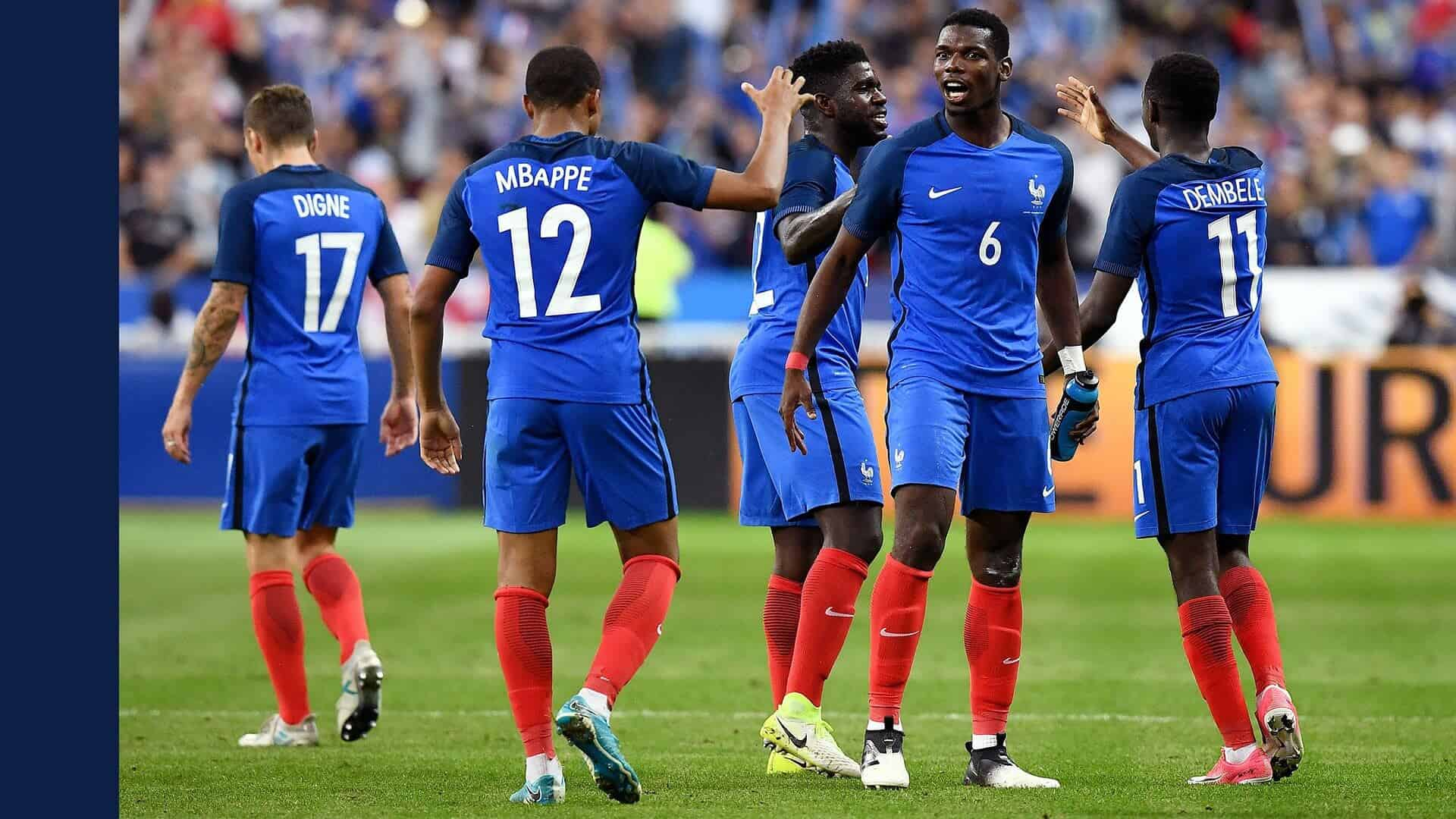 FRANCE NATIONAL FC SOCCER TEAM 2019