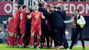 FYR MACEDONIA national fc soccer team 2019