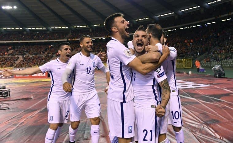 GREECE fc soccer team 2019