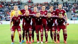 LATVIA NATIONAL FC SOCCER TEAM 2019