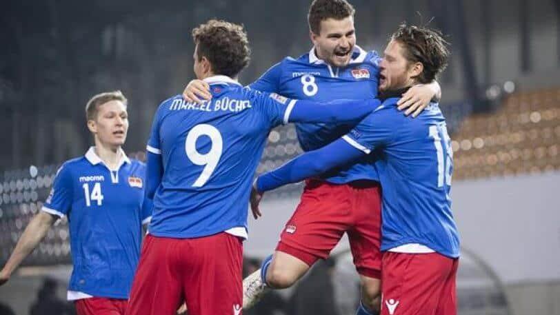 LIECHTENSTEIN NATIONAL FC SOCCER TEAM 2019